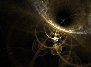 peut être comprise comme un monde ne se rattachant pas nécessairement à un monde matériel substantiel.