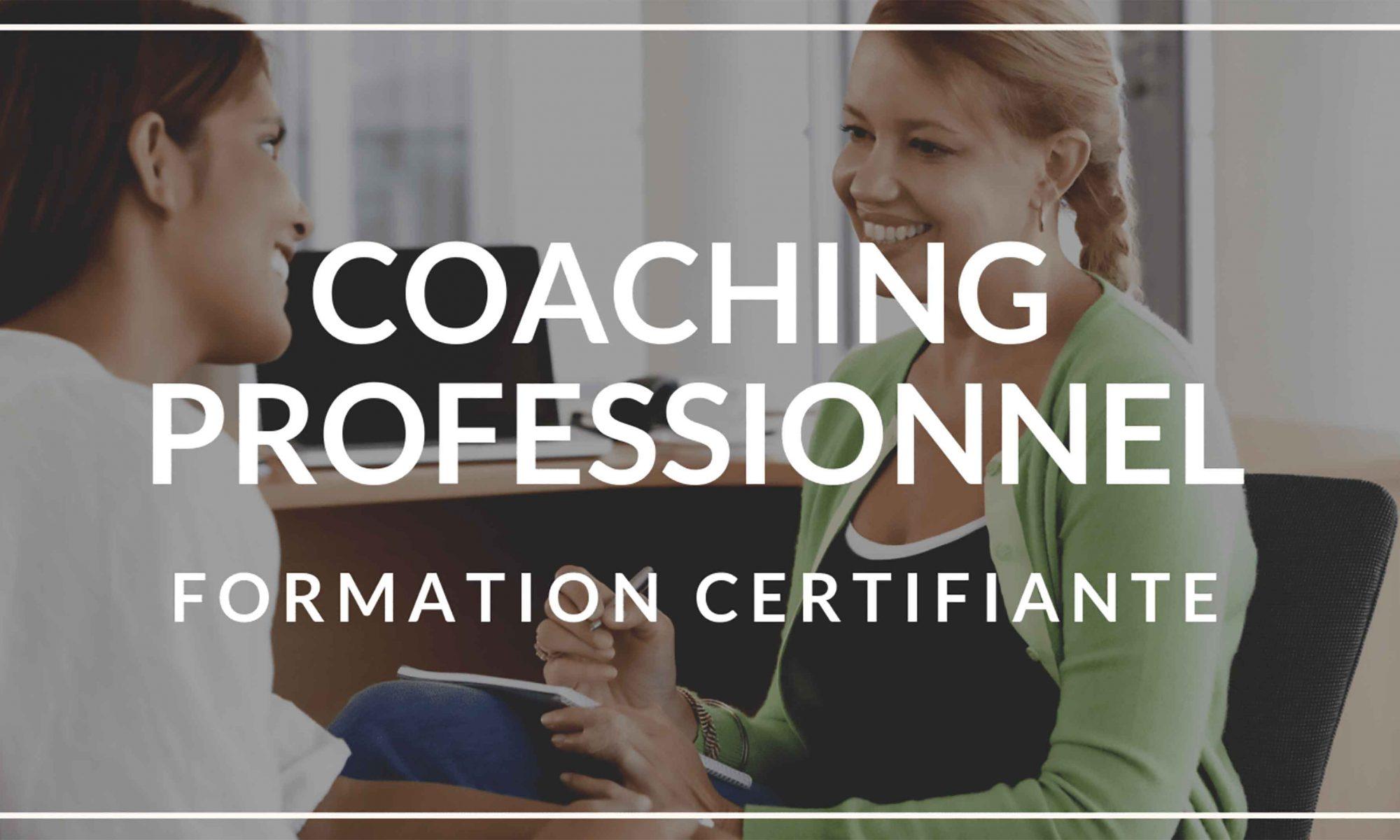 Certification de coach professionnel