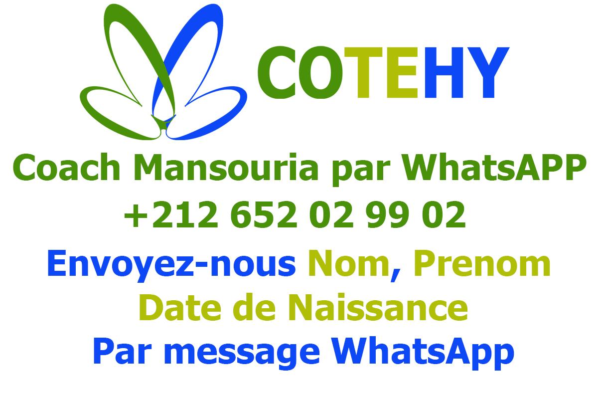 Contactez Coach Mansouria El Bouchikhi
